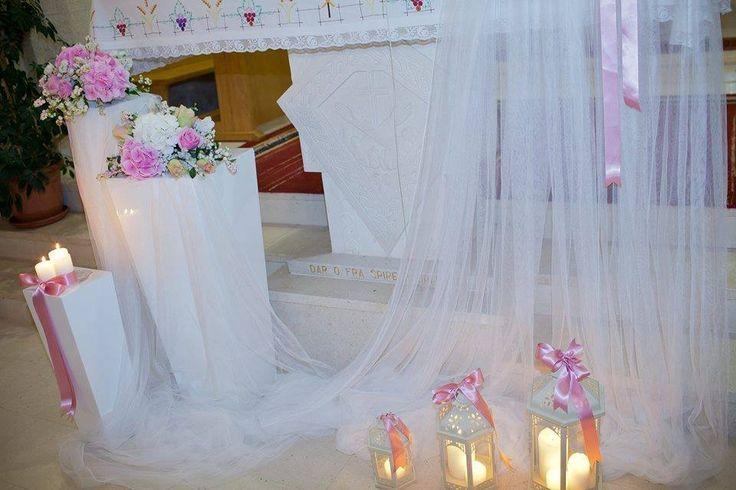Wedding Arch Inside the Church - Love this idea!! Wedding Ceremony Rustic & Romantic Burlap & Peach Wedding Aisle Chair Décor. modern wedding Weddings of Desire » Wedding Styling Ideas Inspiration Candles in lanterns to plan your wedding ceremony
