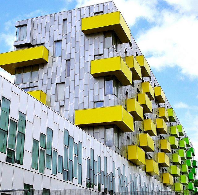 Barking Central apartments - London, England; photo by Ken Lee 2010, via Flickr