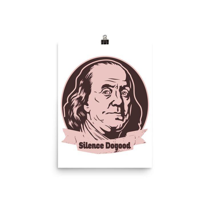 Silence Dogood, Benjamin Franklin Poster