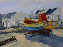 lynnortham.blogspot.com 1600 × 1200 To capture these colourful moments in time is a challenge indeed - having wind, changing sunshine and boats going out to sea as you try to paint them in the natural daylight
