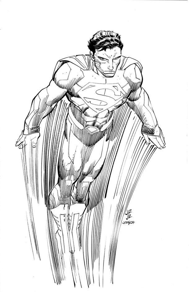 Superman // artwork by John Romita Jr. (2014)