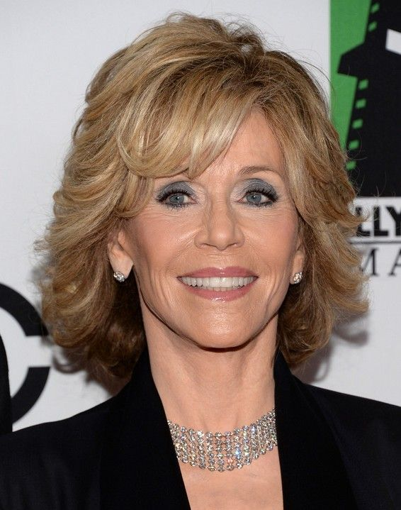 Short Hairstyles for Women Over 50, 60: Jane Fonda Hair Cut