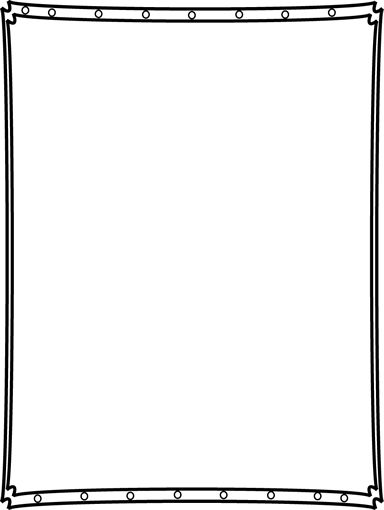 Double Dipped Corner Border - Free Page Borders
