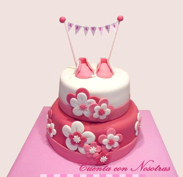 Torta Baby Shower Torta zapatitos Baby Shower Cake