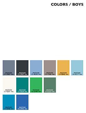 Lenzing Color Trends Spring/Summer 2015 - Kids - Boys