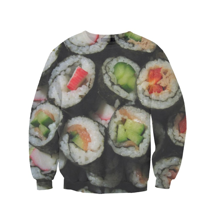 1000 images about cool sweatshirts on pinterest crew for Angry fish sushi