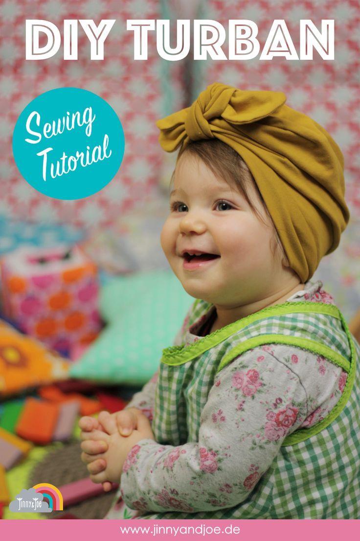 turban mütze baby nähen