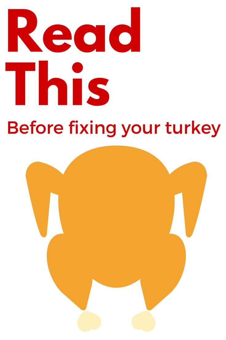 Read this before roasting your turkey to assure a ttasty Thanksgiving meal and use good food safety practices. #NebExt