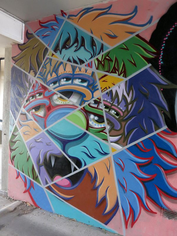 Ponsonby Mural by Ghstie