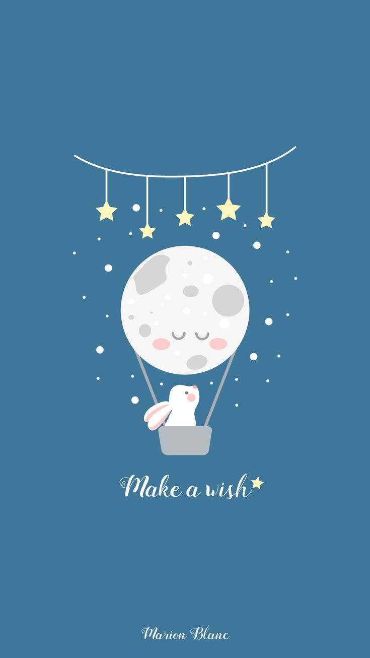Tumblr iphone wallpaper stitch - Wish Illustration Marion Blanc Funny Wallpapersiphone
