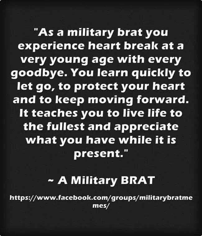 Military Brat                                                                                                                                                                                 More