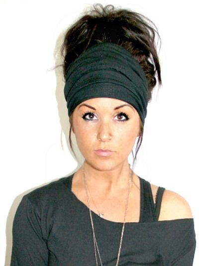 Extra Wide Scrunch Headband { + free shipping }