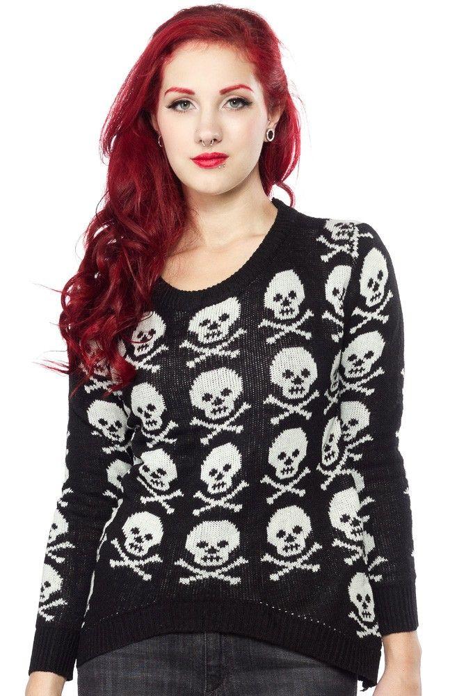 Best 25+ Skull sweater ideas on Pinterest | Skull outfits, Skull ...