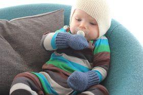 Sweet potatoes: DIY på hæklede babyvanter/luffer | Huer, hatte, håndledsvarmere | Pinterest ...