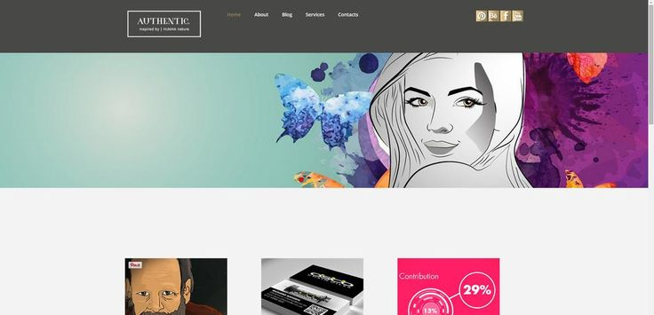 Sneak peak at the authentic website coming soon #graphicdesign #authentic_mgd