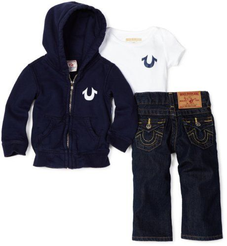 True Religion Newborn | True Religion Baby-Boys Infant Classi... Sold Out thestylecure.com