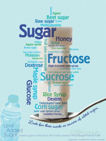Different names for sugar