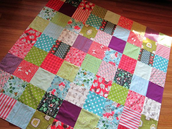 """""""Summer Weight Quilt"""" by StitchedInColor: Picnics Blankets, Colors Combos, Pick Colors, Picnic Blanket, Color Combos, Weights Quilts, Flickr Berries Pick, Pick Picnics, Quilts Blankets"""