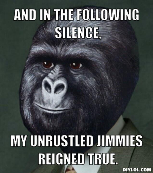Jimmies, rustled