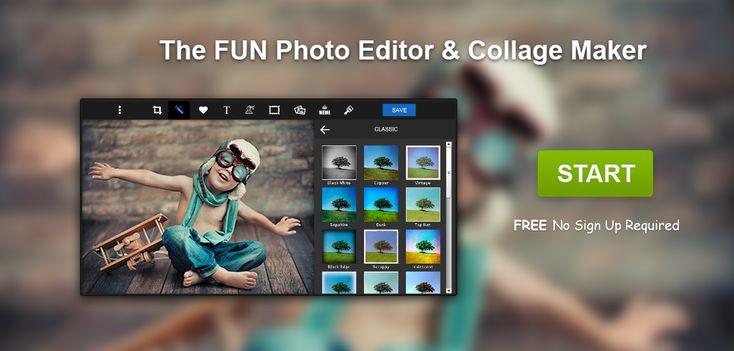 piZap | Online Photo Editor & Collage Maker | Programa que nos permite hacer carteles, felicitaciones, diseños, collages, etc. Con muchas opciones y temáticas para que no nos cueste nada hacer lo que tengamos en mente. No hace falta registrarse.