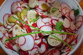 Radi-Weißwurstsalat