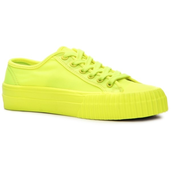 PF Flyers Center Lo Neon Sneaker ($50) ❤ liked on Polyvore