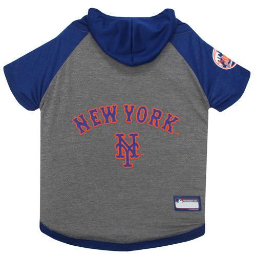 7d20b6b44a3 NEW YORK METS Dog HOODIE T-SHIRTS Free Shipping MLB Pet Apparel XS-L ...