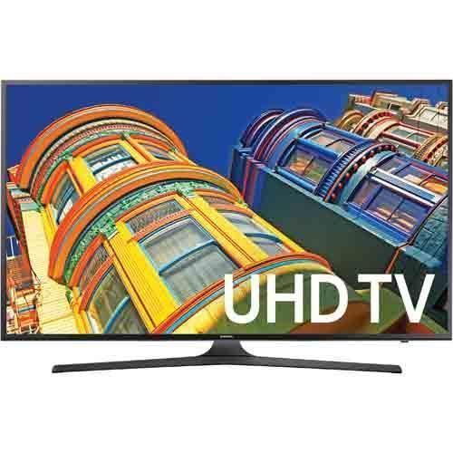 Samsung UN43KU6300 43 Class Smart LED 4K UHD TV With Wi-Fi