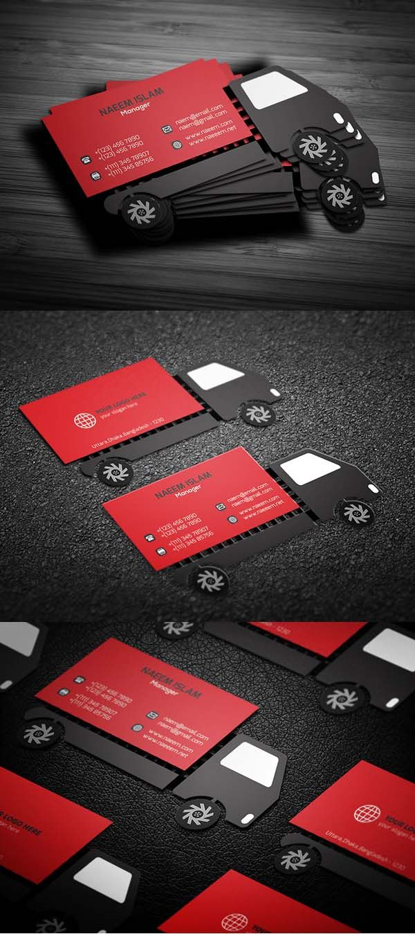 36 Modern Business Cards Examples for Inspiration - 1 #businesscards #visitingcards #corporateidentity #inspiration