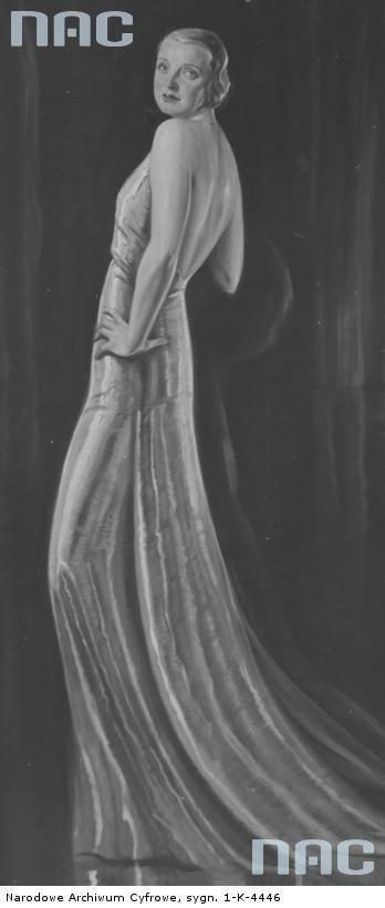 Hanka Ordonówna (born Maria Anna Pietruszyńska) was a Polish singer, dancer and actress. She died in 1950 in Beirut.