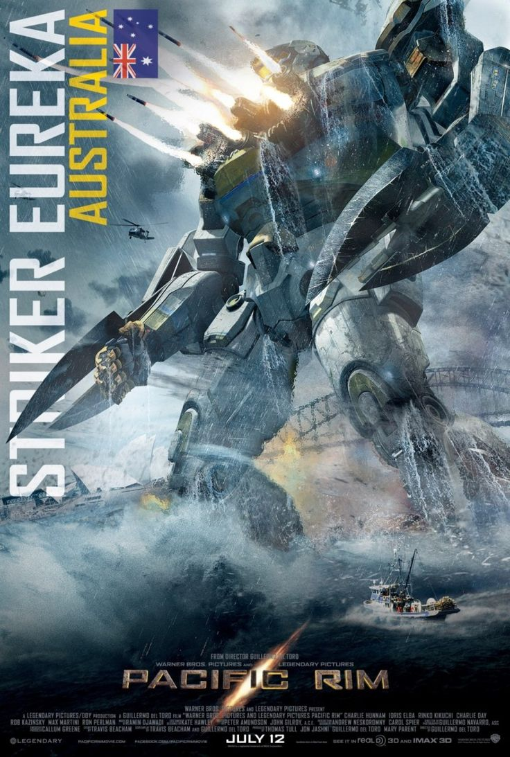 Pacific Rim – well that was pretty much two hours of AWESOME!!! Also, I think I want to be a Jaeger pilot when I grow up.