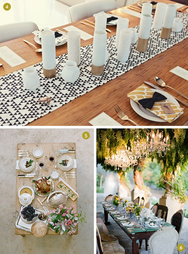 Lovely Diy Dinner Party Ideas Part - 10: Eye Candy: 12 Gorgeous Table Settings To Inspire Your Next Dinner Party