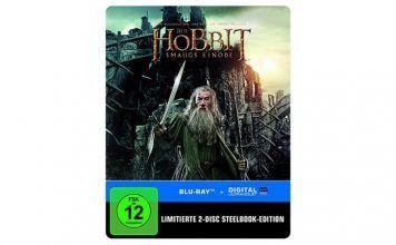 [Angebot]  Der Hobbit: Smaugs Einöde Steelbook [Blu-ray] [Limited Edition]  für 690