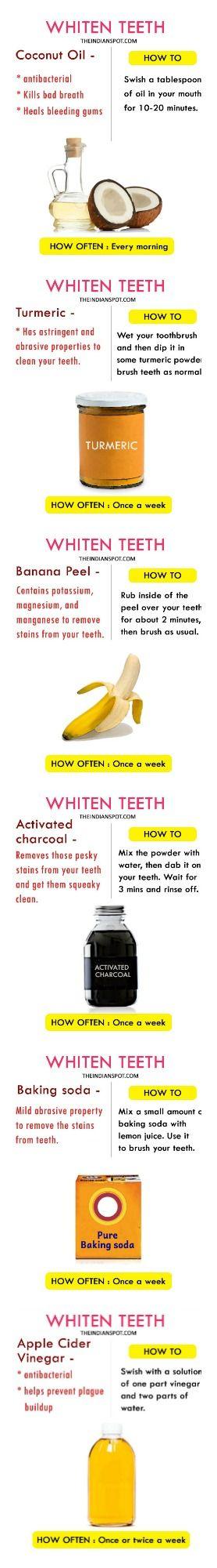 Whitening Teeth Hack