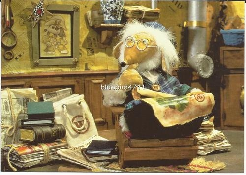 Great Uncle Bulgaria in his Study. The Wombles