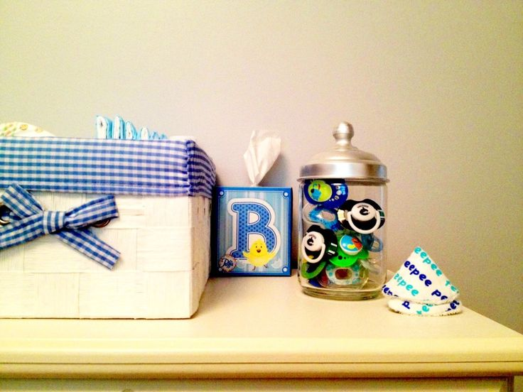 Pacifer & Diaper storage