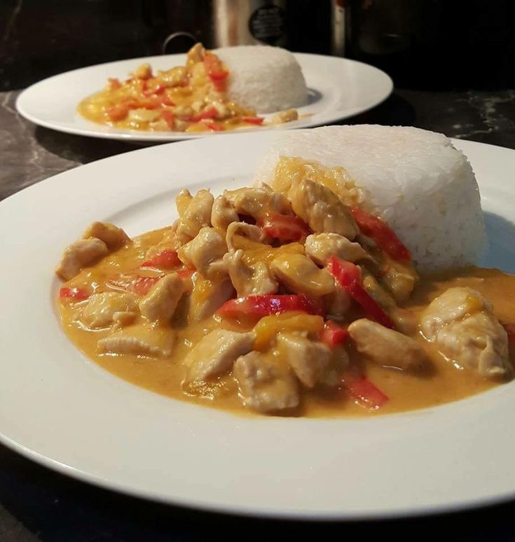 Thai Mango Curry Chicken |