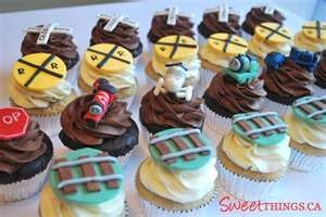 Train cupcakesKids Parties, Training Cupcakes, Thomas The Training, Training Birthday, Parties Ideas, Training Parties, Thomas Training, Parties Time, Cake Toppers