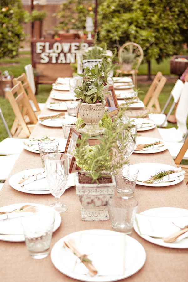 Inspired by Ashley's Vintage Garden and Blueberry Bridal Shower   Inspired by This Blog