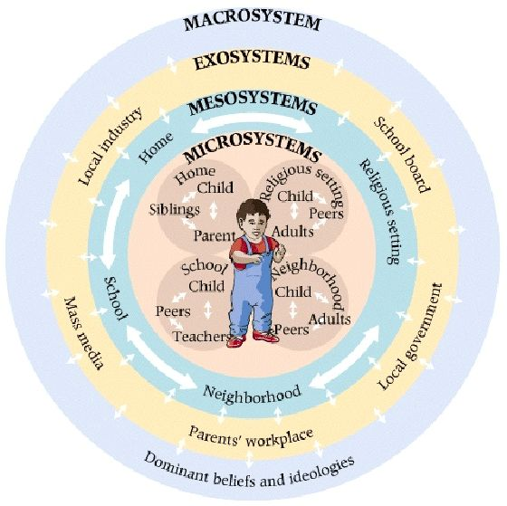 Bronfenbrenner's Social-Ecological Model of Development /Systemic perspective opens up multiple retraumatization levels