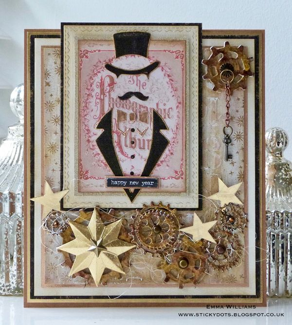 A Dapper New Year | Created by Emma Williams for Simon Says Stamp