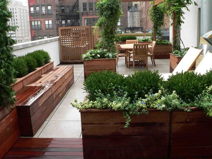 Garden Rooftop Decoration Ideas