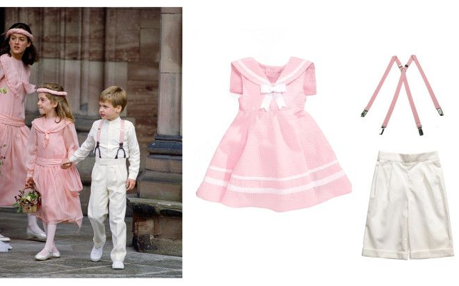 The Most Adorable Looks for Flower Girls and Page Boys Inspired by Royal and Fashionable Weddings – Vogue - Prince William as a page boy at the wedding of Camilla Dunne and Rupert Soames