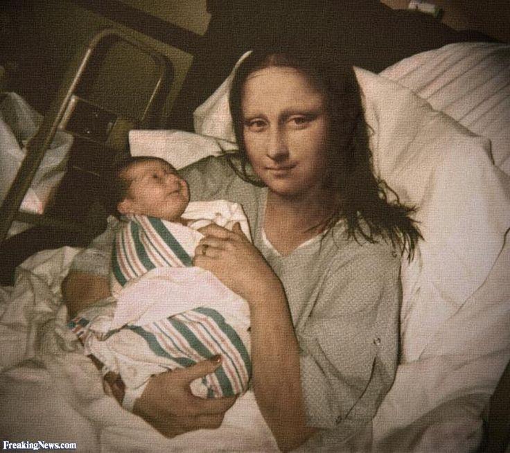 মোনা বৌদির বাচ্চা হয়েছে  Mona Lisa Delivers a Baby