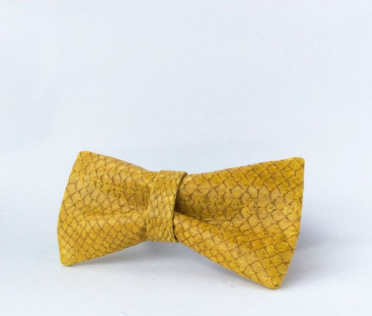 26 best Fish Leather Bow Ties luxury accessories images on ...