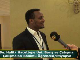 Kalid Muhammed / Hacettepe Üni. Barış ve Çatışma Çalaşmaları Bölümü Öğrencisi / Etiyopya Video