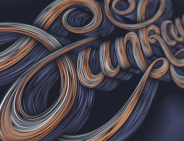 Typography Work for Goodtype The Book Volume One | Abduzeedo