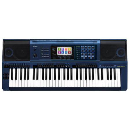 Casio MZ-X500  — 74990 руб. —  Полупрофессиональный синтезатор с автоаккомпанементом, встроенной звуковой системой и цветным сенсорным ЖК-экраном. 61 динамическая клавиша, 1100 тембров (650 пользовательских), 330 стилей автоаккомпанемента (100 пользовательских), DSP: 65 базовых эффектов, параметрический эквалайзер, гармонизатор, арпеджиатор, 16 сенсорных пэдов. Полифония – 128 голосов, возможность подключения внешней аудиосистемы и двух педалей, входы для нескольких источников. Запись…