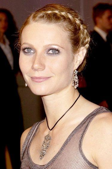 The outwards french plait  | Gwyneth Paltrow Hair