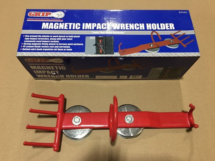 E Air Tool 1 - Magnetic Impact Wrench Tool Holder Grip 67433, $19.00 (http://www.eairtool1.com/magnetic-impact-wrench-tool-holder-grip-67433/)